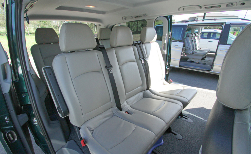 Luxury Mercedes Vans keep you safe and comfortable