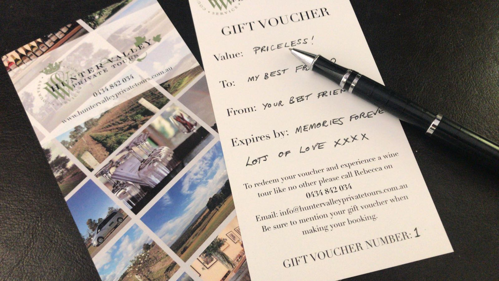Yes, we do have Gift Vouchers!