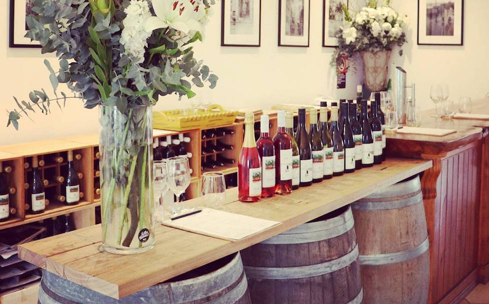 Selection of award winning Tulloch wines will tantalise your tastebuds!